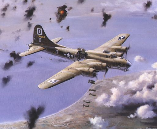 Battle-Damaged B-17 Flying Fortresses: Intro page