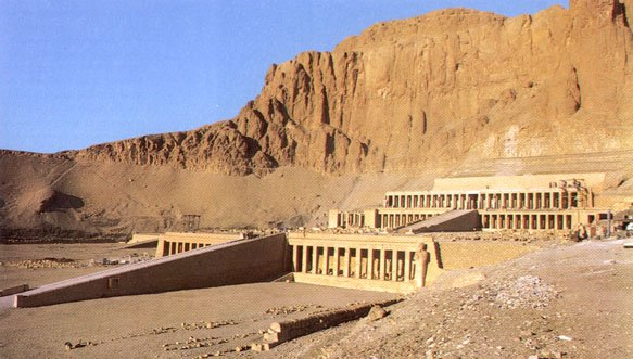 QUEEN HATSHEPSUT'S TEMPLE AT DEIR EL-BAHRI